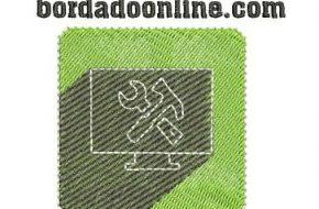 Diseños de logotipos listo para Bordar