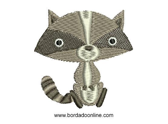 Diseño Bordado de Gato Infantil