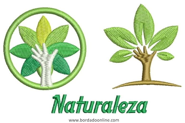 Diseños de Naturaleza para Bordar Gratis - Diseños Bordados y Picajes