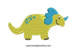 Diseños bordado de dinosaurios para Bordar